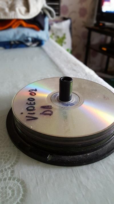 Des CD/DVD